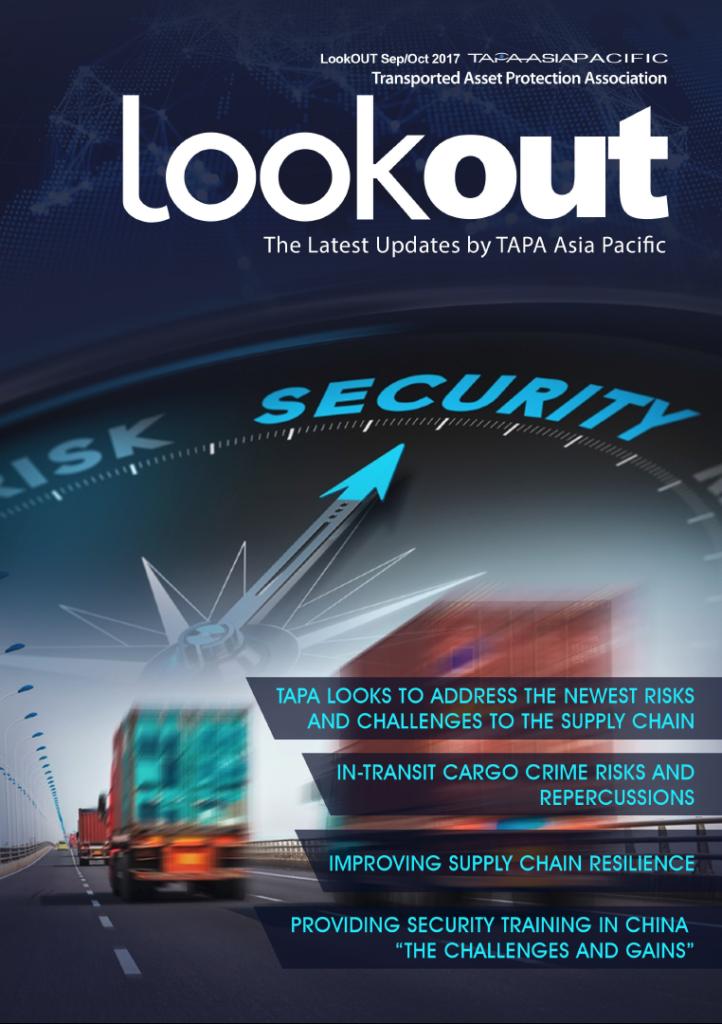TAPA APAC LookOut Magazine (Sep/Oct) 2017